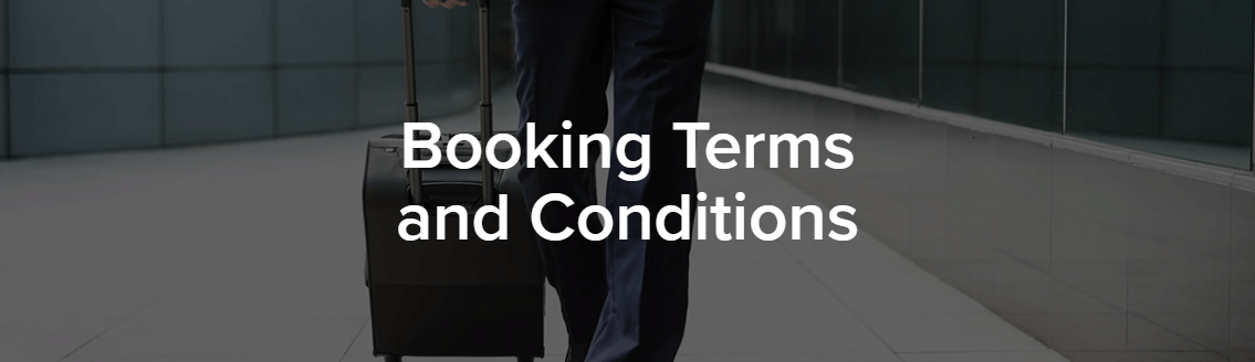 booking terms and cond