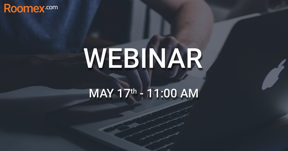 Webinar May 17th: How to gain visibility & control while saving time & money on hotel bookings
