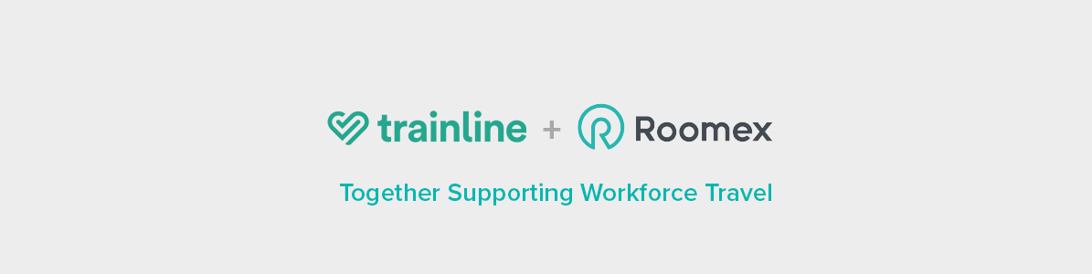 Roomex partners with Trainline in a further step toward simplifying workforce travel