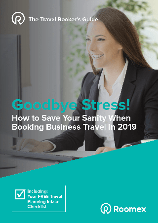 Ebook | How to Save Your Sanity When Booking Business Travel in 2019