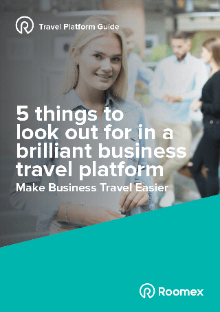 Ebook | 5 things to look out for in a brilliant business travel platform
